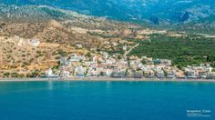Myrtos  Ιerapetras is a coastal #village in the west of the municipality of #Ierapetra, on the island of Crete in Greece. A beautifull panoramic picture of village. Μύρτος-Ιεράπετρα Κρήτης. Μια πανοραμική φωτογραφία του χωριού .  (CC-BY-SA 3.0)