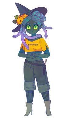 day 9: medusa witch