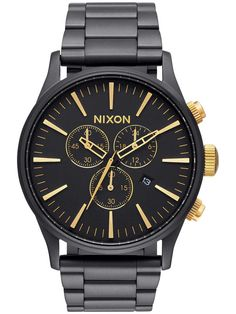https://www.blue-tomato.com/es-ES/product/Nixon-The Sentry Chrono Reloj-302217209-matte black gold/