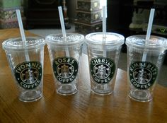 Vinyl Personalized cups!