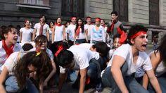 Teatro de Protesta por Ayotzinapa. ¡Queremos un México justo y libre!