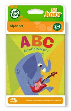 9 Pack LEAPFROG ENTERPRISES LEAPFROG TAG JUNIOR BOOK ABC ANIMAL by LeapFrog. $113.40. Ratta-tat-tat on Cat's congas and croon with Baboon's bassoon while exploring the ABC's! This Tag™ Junior board book springs to life when you touch the Tag Junior book pal to any part of any page. More than 24 playful activities and 150 audio responses encourage little ones to explore while helping build confidence with books. Parents can connect to the online LeapFrog® Learning Pat...
