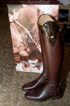 These boots are like me, not sure if they want to be Western or English... why not be both!?