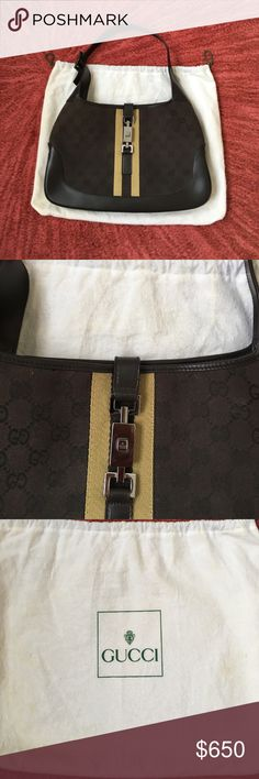 Authentic Gucci bag like new used once from Sak's gorgeous perfect condition Vintage Gucci Bags Satchels