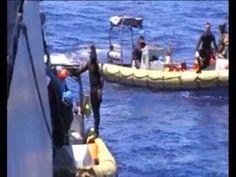 Marina Militare: nave Sirio in soccorso ad un natante in difficoltà /VIDEO