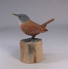 bird wood carving