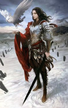 Valkyrie is one of a host of female figures who choose those who may die in battle and those who may live.