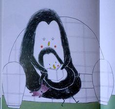 """Illustrazione di Emile Jadoul, """"Fra le mie braccia"""", Babalibri"""