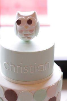 hello naomi: baptisim/ christening  owl