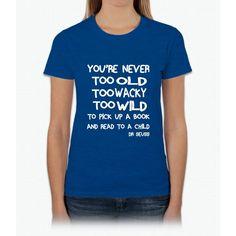 Dr. Seuss Day Womens T-Shirt