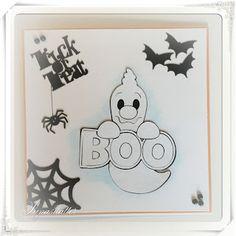 Lunasdatters Scrapbooking: Halloween kort