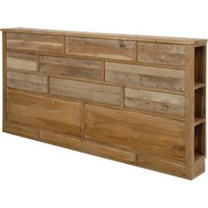 T te de lit on pinterest headboards pallet headboards and deco - Palette bois tete de lit ...