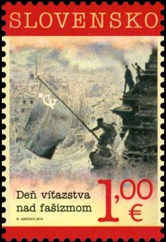 Stamp: Day of Victory over Fascism (Slovakia) (Day of Victory over Fascism) Mi:SK 765,Yt:SK 669,AFA:SK 733,POF:SK 589