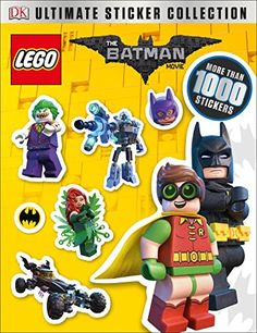 Ultimate Sticker Collection: THE LEGO® BATMAN MOVIE (Ultimate Sticker Collections) -- Read more  at the image link.