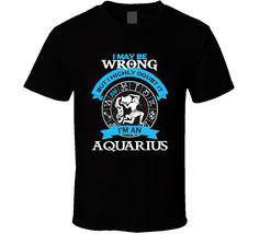 Order your very own Aquarius Zodiac t shirt January February born t-shirt women girl. Use this coupon