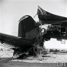 B-29 Explosives Testing, Bone Yard Davis–Monthan Arizona, 1956