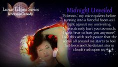Midnight Unveiled, part 3 of the Lunar Eclipse Series teaser