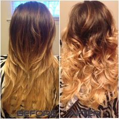 Achieving that lighter and brighter ombré.