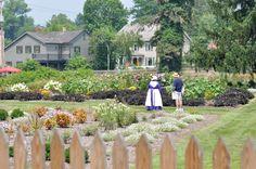 Zoar, OH garden
