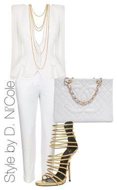 Fashion Moda Tips All White Outfit, White Outfits, Classy Outfits, White Fashion, Look Fashion, Fashion Outfits, Womens Fashion, Fashion Trends, Dress Outfits