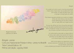 Prosa e Poesia Catia Garcia: Resgate - texto premiado