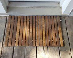 Outdoor Wooden Doormat U2013 Etsy