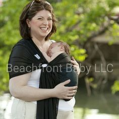 47682037212 Beachfront Baby water ring sling in Midnight Sky Ring Sling Carries