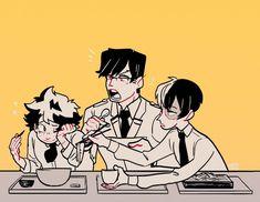 Todoroki Shouto, Iida Tenya, and Midoriya Izuku Boku No Academia, Buko No Hero Academia, My Hero Academia Memes, Hero Academia Characters, My Hero Academia Manga, Anime Characters, Me Anime, Manga Anime, Character Art