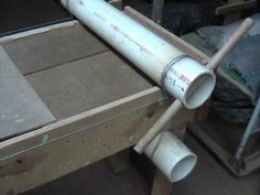 homemade sheeter for slabs of fondant dough or ceramic clay