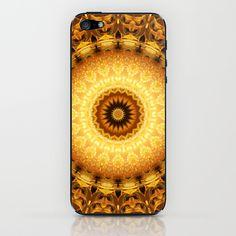 Mandala Star dust 2 iPhone & iPod Skin by Christine baessler - $15.00