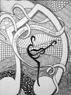 zentangle expressions zentangle music speaks music symbolszentangle patternszentanglescoloring pages for adultscolouring