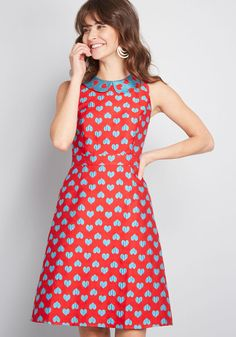 Pincal Women's Casual Vintage-Inspired Dresses