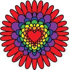 heart mandala - Google Search