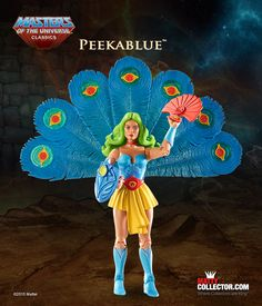 Masters of the Universe Classics, July 2015: Peekablue. Only at MattyCollector.com #toys#entertainment #geek