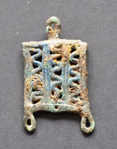 Amlash bronze pendant 16, 1st millenium B.C. Private collection