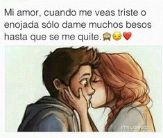 Postales de Amor para Enviar #vwhatsapp #amor #frases Amor Quotes, Smile Quotes, Frases Love, Cute Relationship Texts, Distance Love, Sad Texts, Quotes En Espanol, Love Phrases, I Love You Quotes