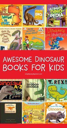 Dinosaurs For Toddlers, Dinosaur Books For Kids, Dinosaurs Preschool, Dinosaur Activities, The Good Dinosaur, Preschool Books, Activities For Kids, Dinosaur Crafts, Vocabulary Activities