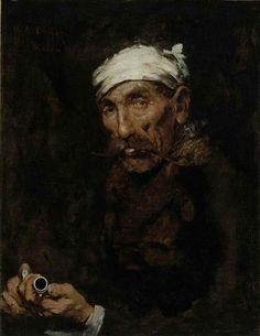The Veteran, 1878, William Merritt Chase