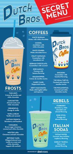 If you're not already a fan of Dutch Bros. Coffee, these drinks could make you…