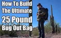 How To Build The Ultimate 25 Pound Bug Out Bag. See how to build the ultimate, lightest bug out bag ever. You will never have to worry about weight again.