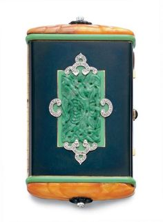 Cartier vanity case ca. 1925 via Christie's---would make a great iphone case