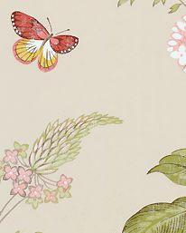 Tapet Messina Pink/Green från Colefax & Fowler