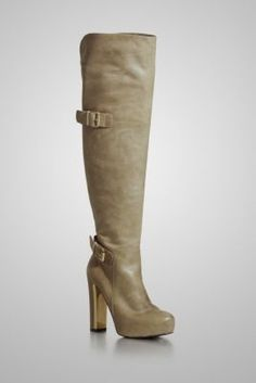I am in love with the Taupe color and the balanced look of this boots. Must buy!