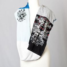 """great way to re-use """"old but goodie""""   t-shirts..."""