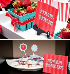 Vintage Carnival Party Table