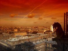 free desktop backgrounds for city by Tennant Black Paris France, Paris Skyline, Louvre, Europe, City, World, Places, Buildings, Traveling