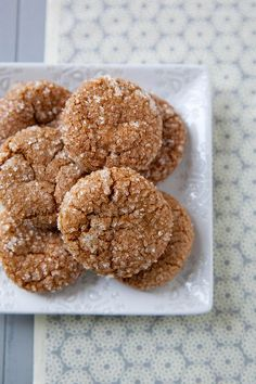 Sugar Sparkled Gingersnaps | Annie's Eats