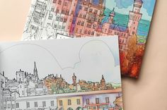 Coloring Fantastic Structures from All Around the World