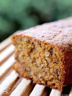 Carrot cake d'Annie, cake carotte, noix, petit déj