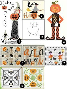 Halloween cross stitch